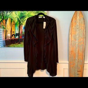 Black Long Sleeve Cardigan